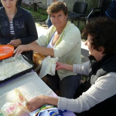 """Pokrajinsko takmičenje u spravljanju tradicionalnih starih vojvođanskih jela """"TESTENIJADA I VALJUŠCI"""""""