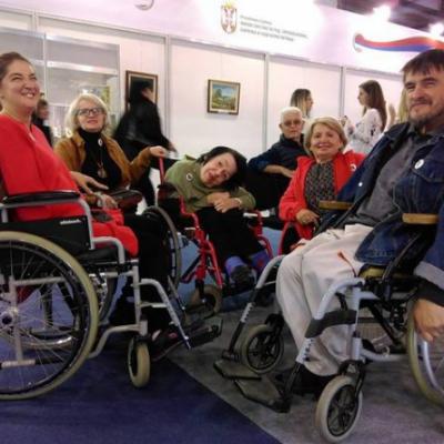 Izložba radova OSI na sajmu J=DNAKI u Beogradu