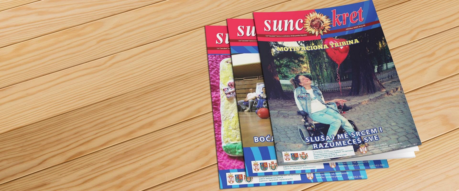 Časopis <br /> SUNCOKRET